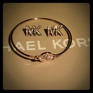 Michael Kors Gold Logo Set